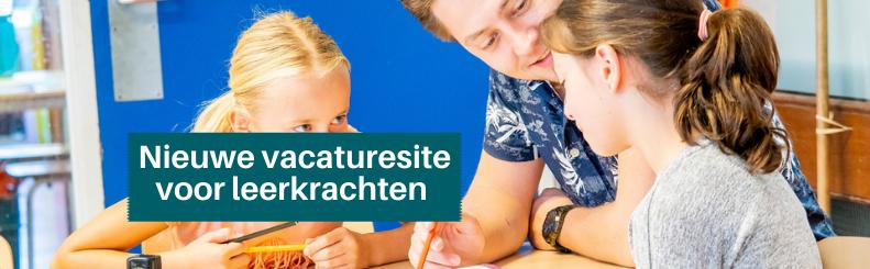 Nieuwe vacaturesite voor leerkrachten met lef